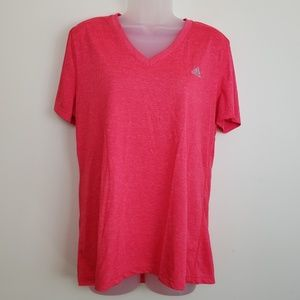 Adidas Pink Ultimate Tee Short Sleeve Tshirt